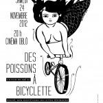 24 nov :: Des poissons à bicyclette