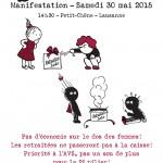 Le 30 mai : manifestation romande contre le Paquet Berset à Lausanne!