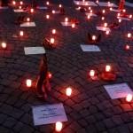 Rassemblement 25 novembre 2016 à Lausanne contre les violences masculines envers les femmes